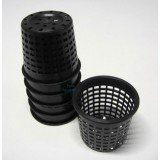 80mm Mesh Pots (Turbo pots) - 6 Pack