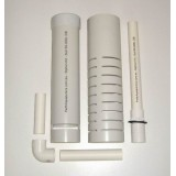 Auto Siphon Kit - Complete - Suit Grow Bed 50L to 200L - to 300mm Deep