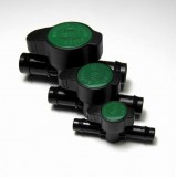 "13mm (1/2"") Green Back Barbed Poly Tap"