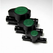 "25mm (1"") Green Back Barbed Poly Tap"