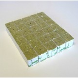 Grodan 40mm Rockwool cubes - 30 Pack