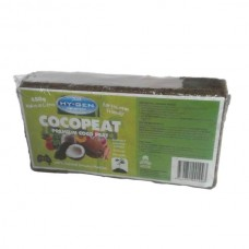 Coco Coir - Hy-Gen Premium Coco - 650gm Brick - Makes 10L