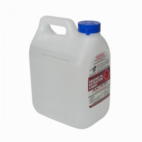 Organic Oil Extraction Liquid - 4Ltr Ethanol Alcohol - Perth