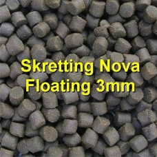 Barramundi, Trout, Perch Feed - Skrettings Floating 3mm x 4kg