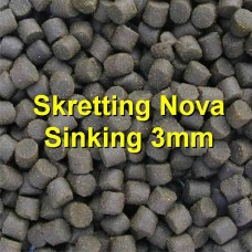 Barramundi, Trout, Perch Feed - Skrettings Sinking 3mm x 4kg