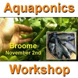Introduction to Aquaponics - 1 Day Workshop - Broome - Nov 2nd, 2019