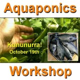 Introduction to Aquaponics - 1 Day Workshop - Kununurra - Oct 19th, 2019