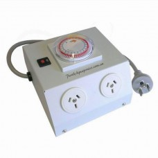 Light Management Unit - 4 Outlet - 2400w - Inbuilt Timer