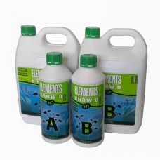 Nutrifield Elements Grow Nutrient - 2Ltr set - A+B