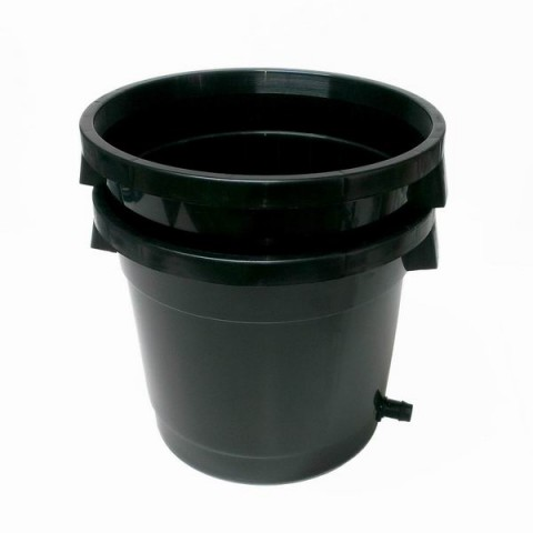 Satellite Pot - 305mm - With 19mm Drain